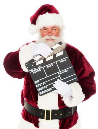 Clapboard Santa