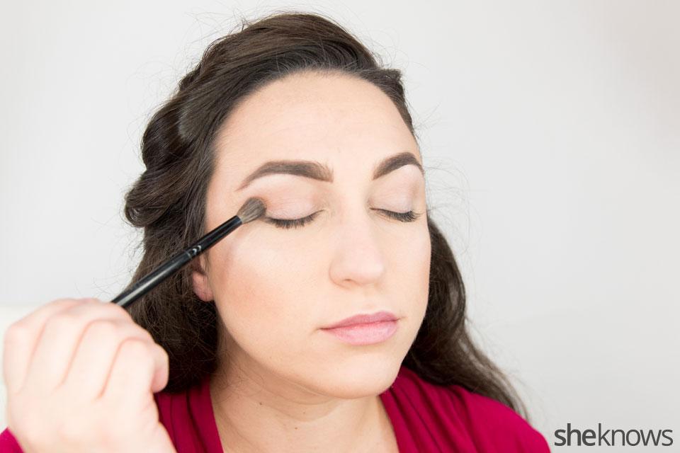 Classic Wonder Woman makeup tutorial: Step 4