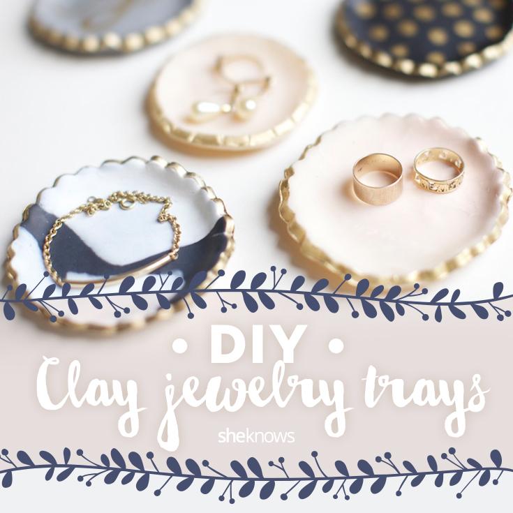 How to make jewelry trays