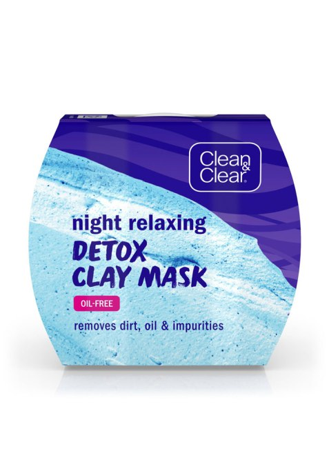 New Clay Masks to Try | Clean & Clear Night Relaxing Detox Clay Mask