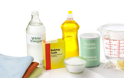 Various Household Cleaners