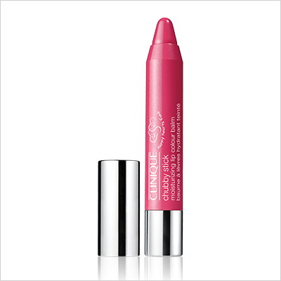 Clinique Happy Heart Chubby Stick Moisturizing Lip Colour Balm in Plumped Up Pink