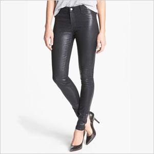 J Brand '815' Coated Skinny Pants
