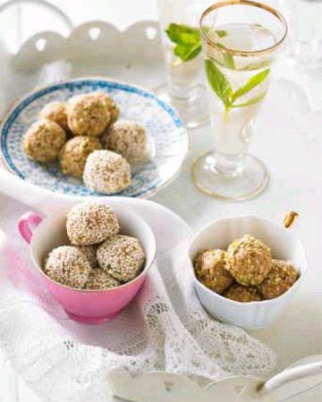 coconut bliss balls