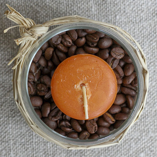 Coffee bean centerpiece
