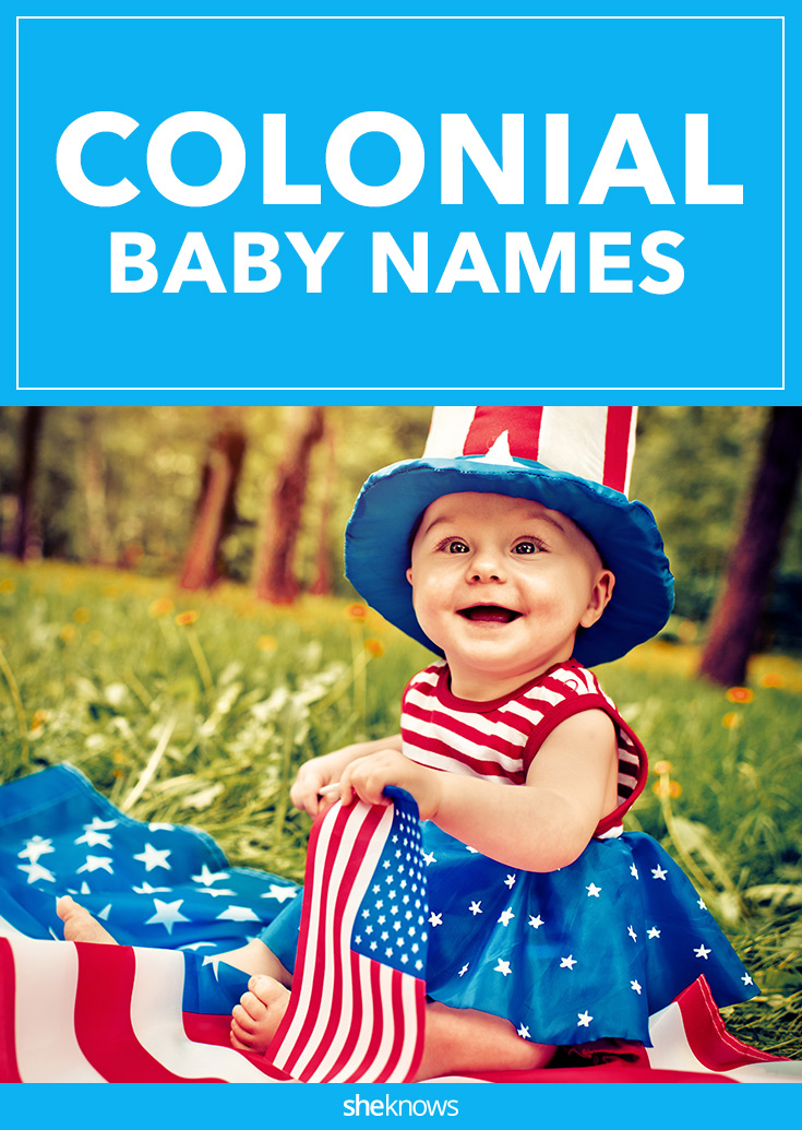 colonial baby names