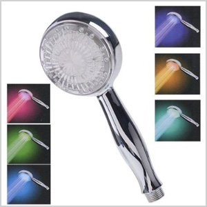 Color Changing LED showerhead