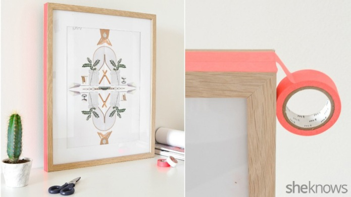 DIY color upgrade for your frames