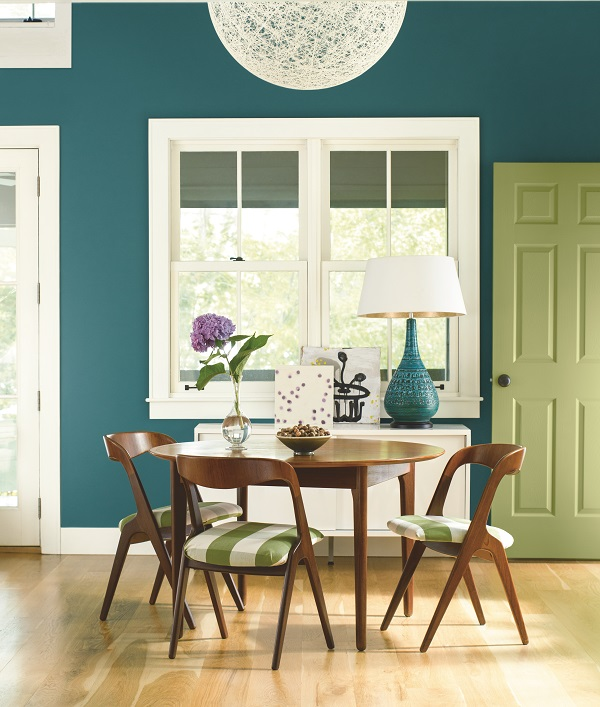 Colorful Rooms Moss: Summer's Must-have Paint Colors For Your Home