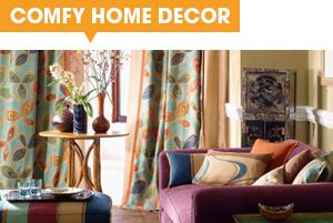 comfy home decor