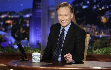 Conan O'Brien on the January 19 Tonight Show