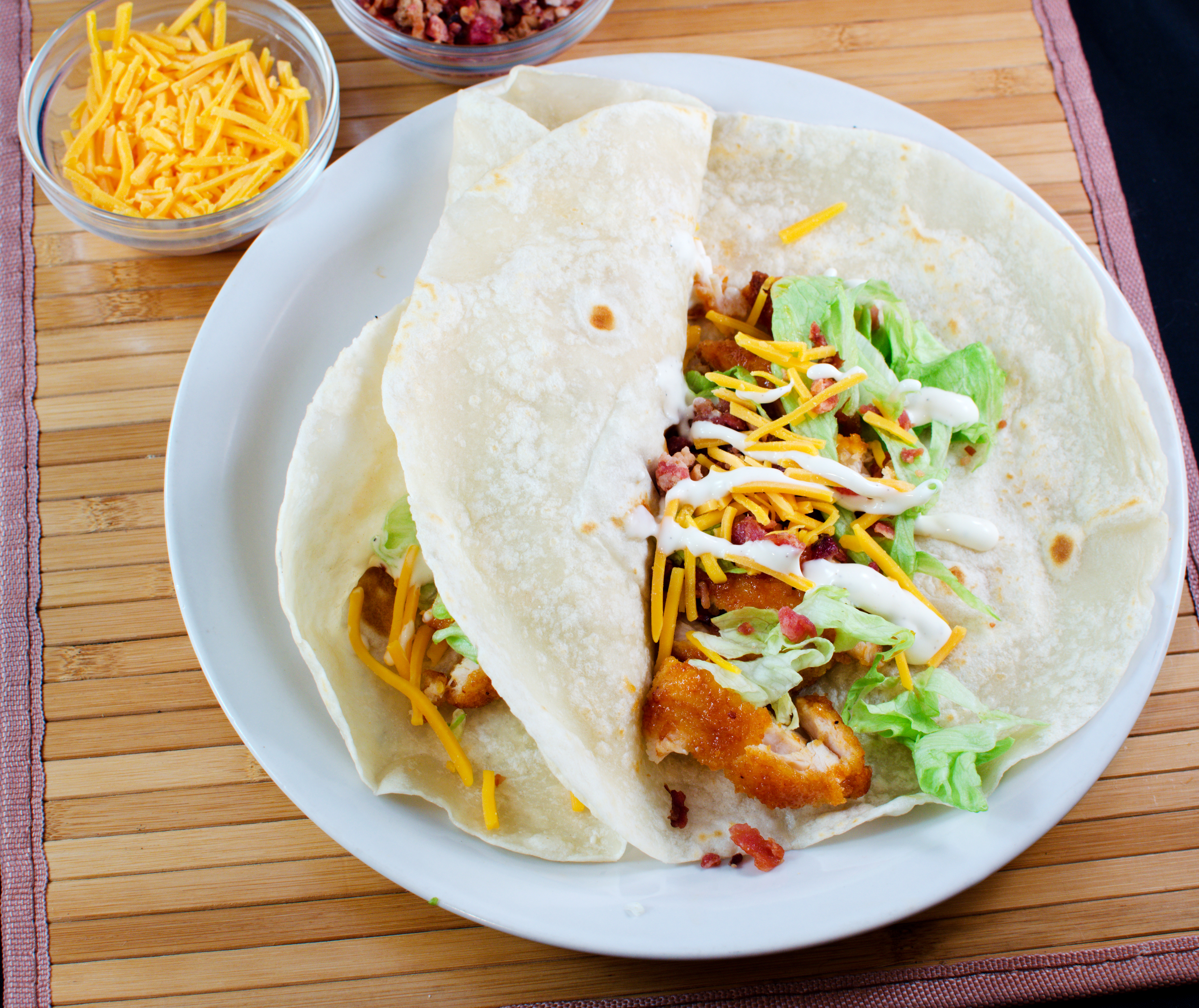 Copycat chilis buffalo ranch crispy tacos