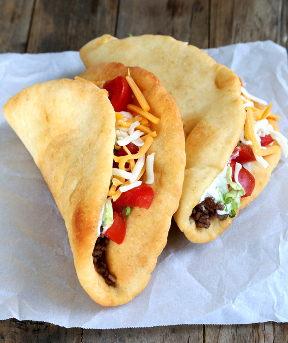 Copycat taco bell chalupas