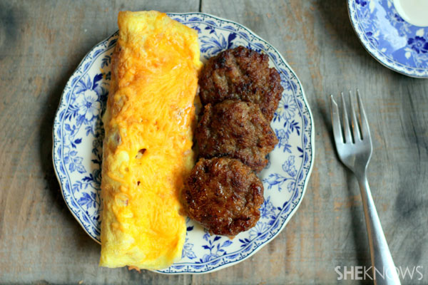Country omelet