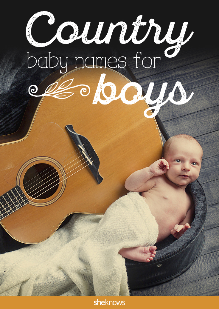 Country baby boy names