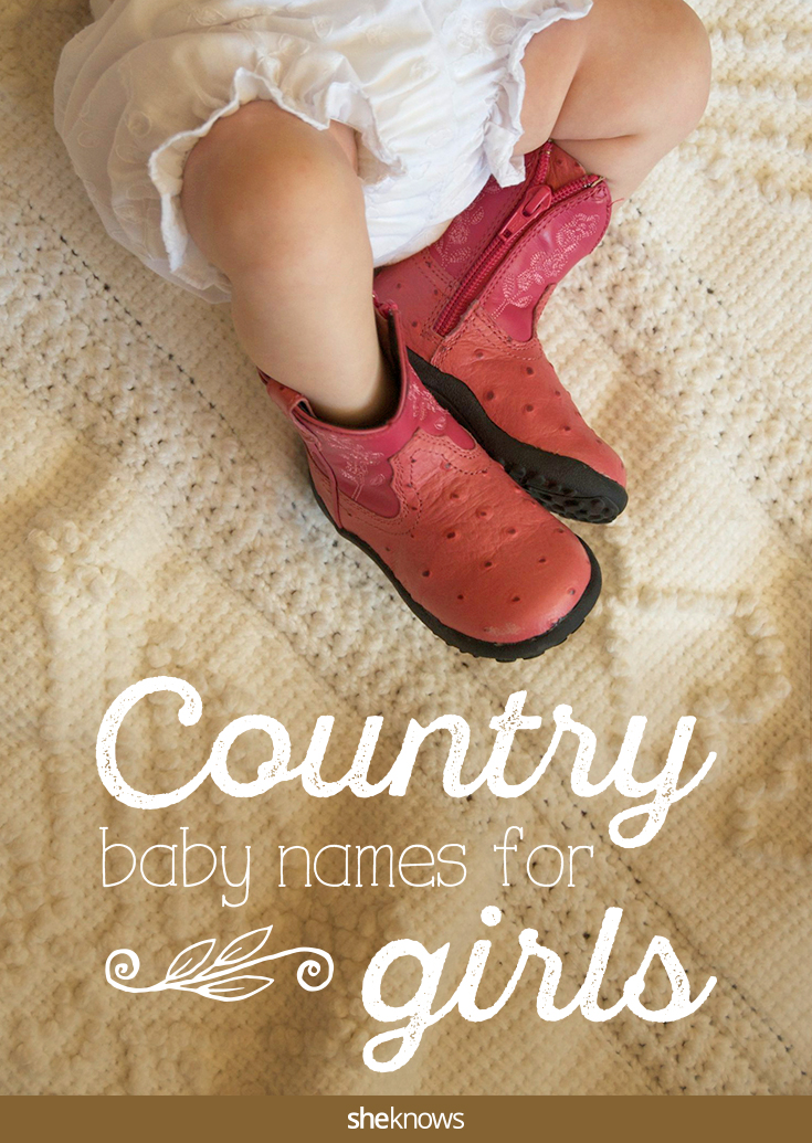 These baby girl names are a little bit country and a little