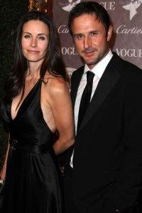 Courteney Cox & David Arquette in happier days