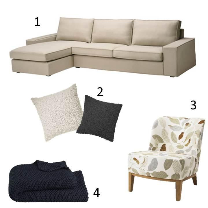 Comfortable living room decor