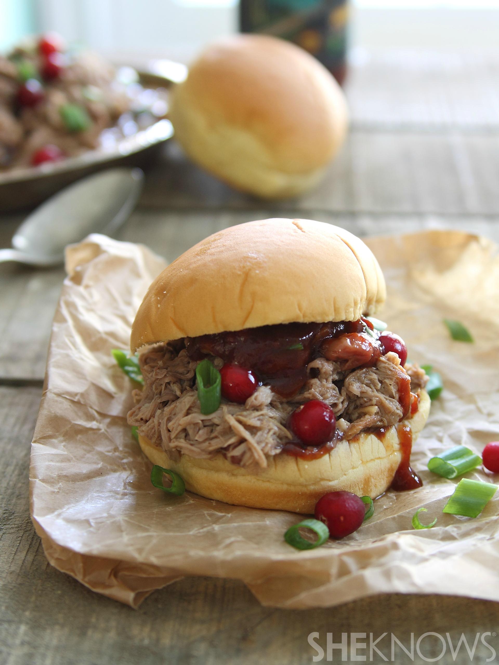 slow cooker pork sliders