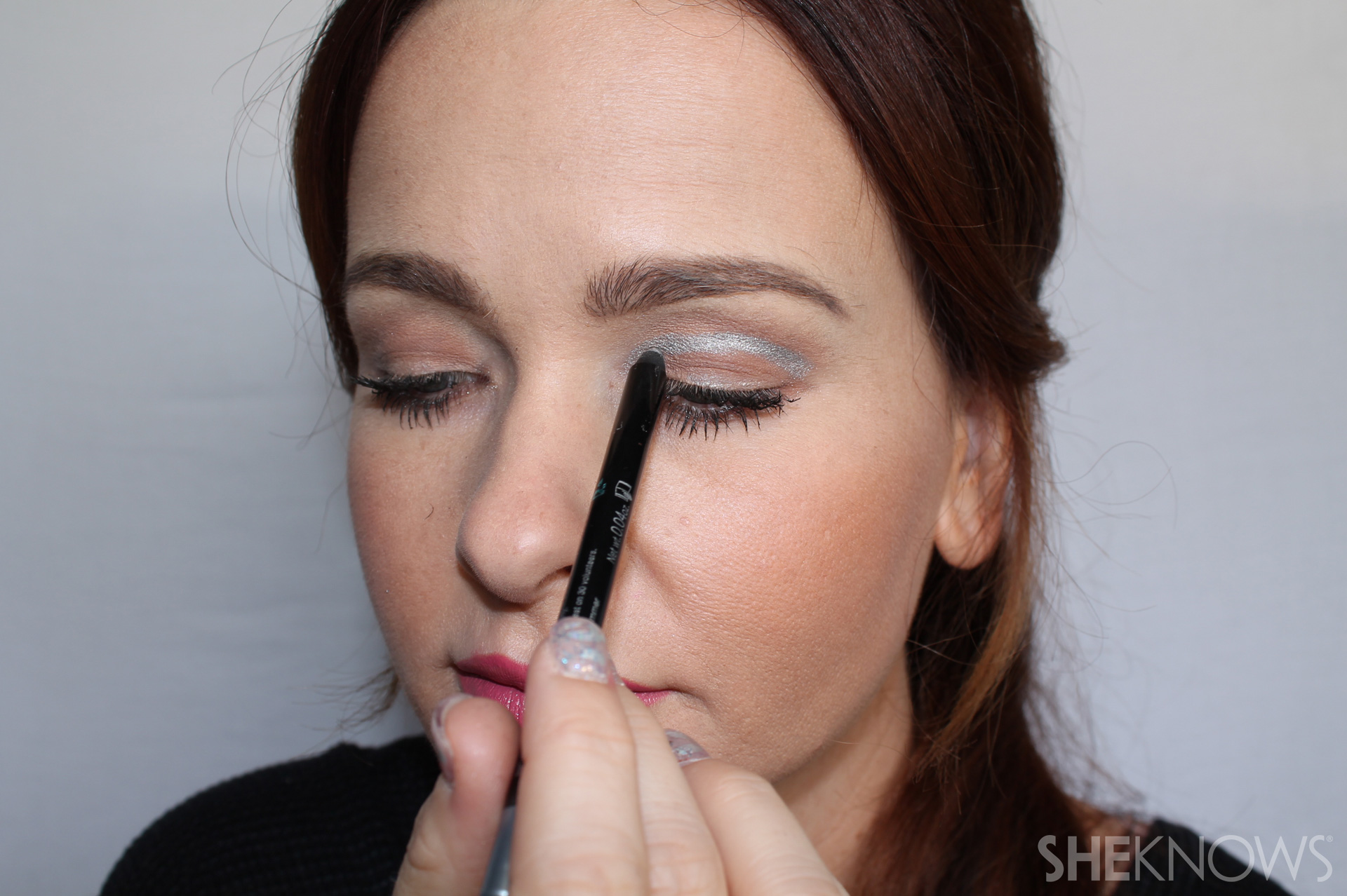 Crease Step 2: Repeat on the other eye