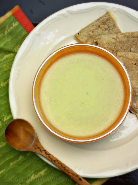 cream of chayote soup