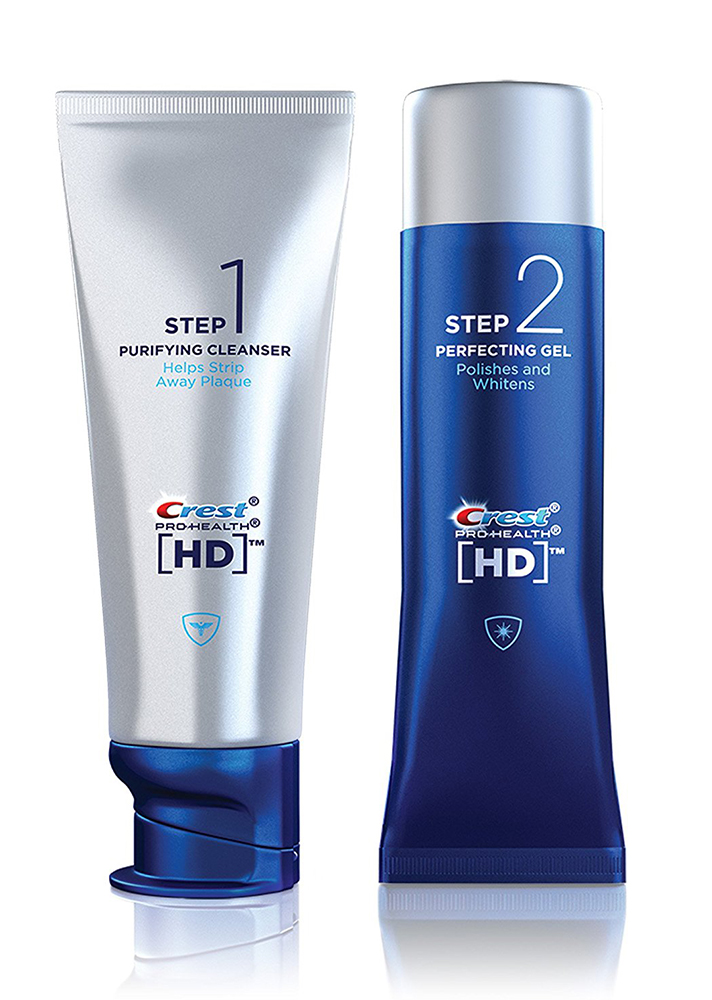Crest Pro-Health HD Two-Step Toothpaste System