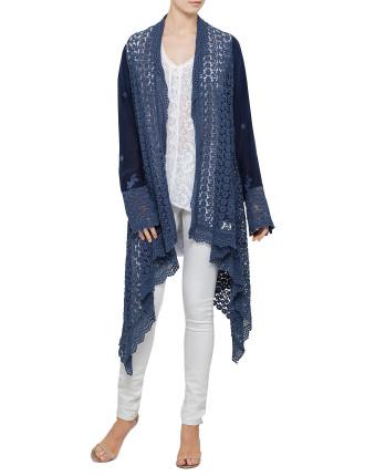 The crochet jacket