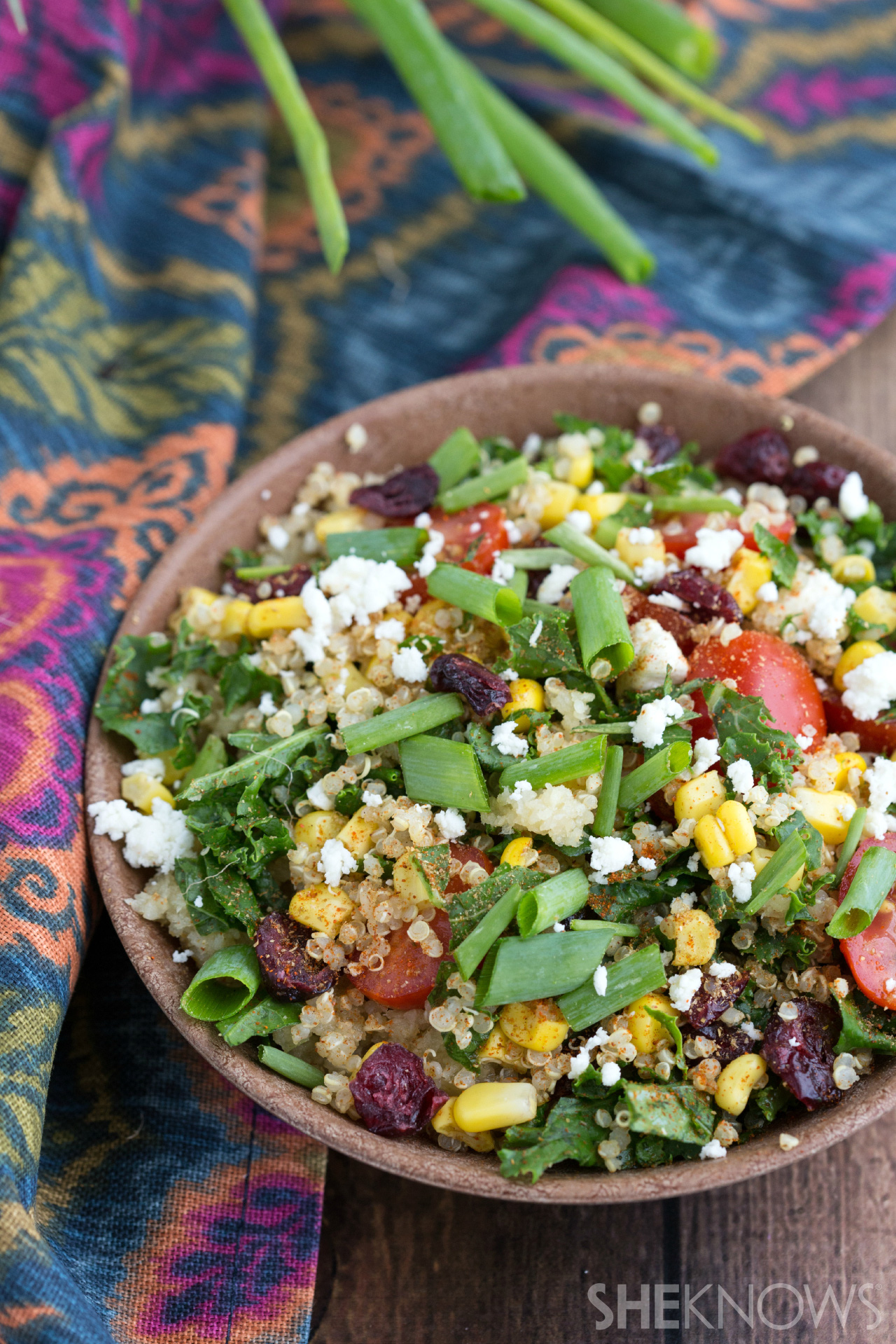Indian curry quinoa