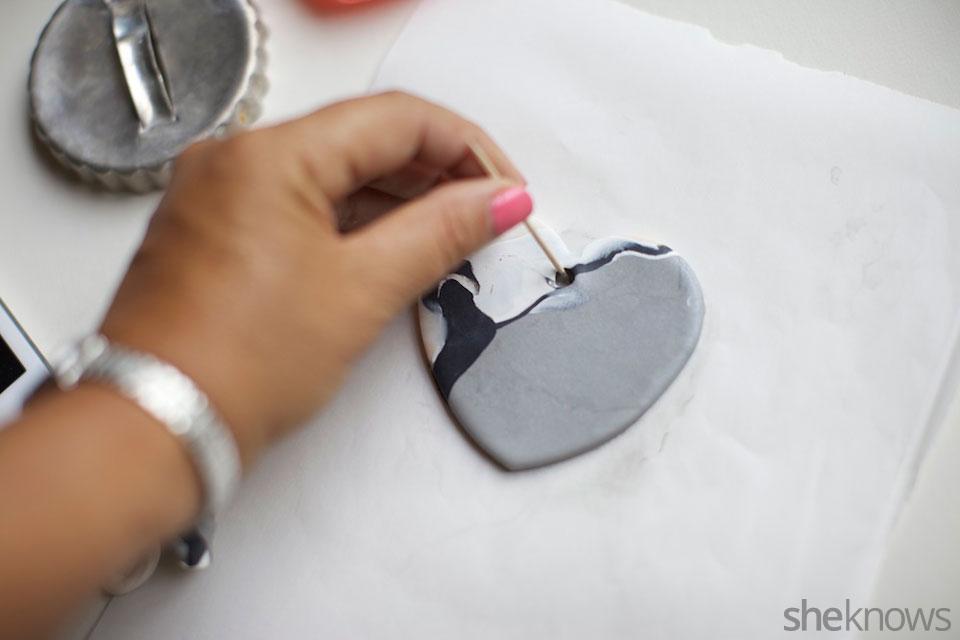 Mini DIY jewelry holders: Step 4