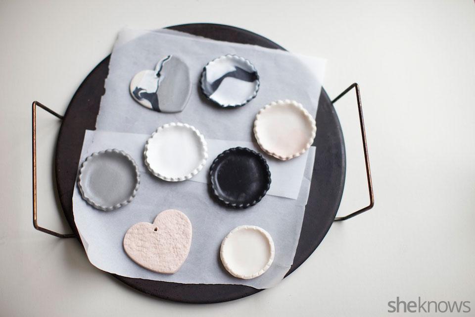 Mini DIY jewelry holders: Step 3