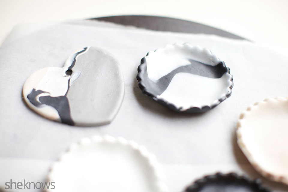 Mini DIY jewelry holders: Step 5