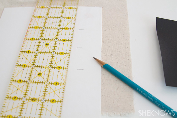DIY Countertop message center Step 1: cut your mat board