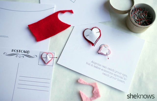 DIY Embroidered Valentines Cards 2