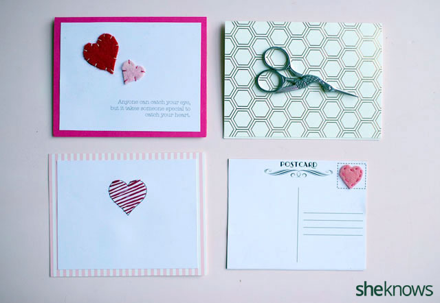 DIY Embroidered Valentines Cards 7