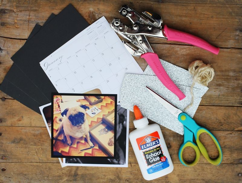 DIY Mother's Day Gifts: DIY Instagram Calendar