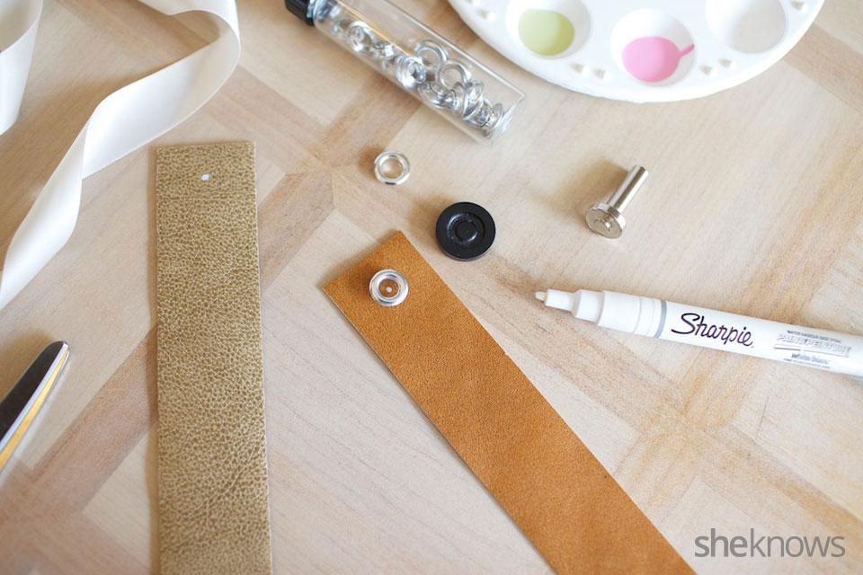 DIY Leather Bookmarker 3