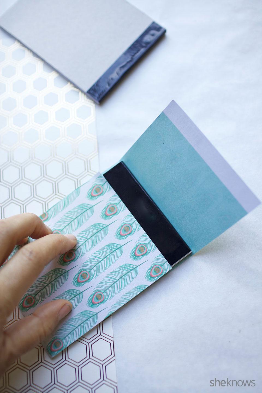 DIY Mini Notebooks 5