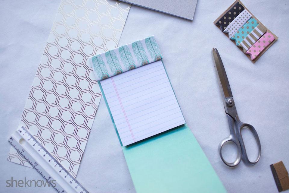 DIY Mini Notebooks 7