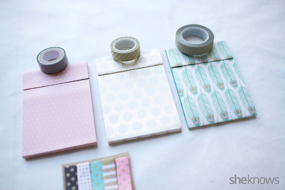 DIY Mini Notebooks 8