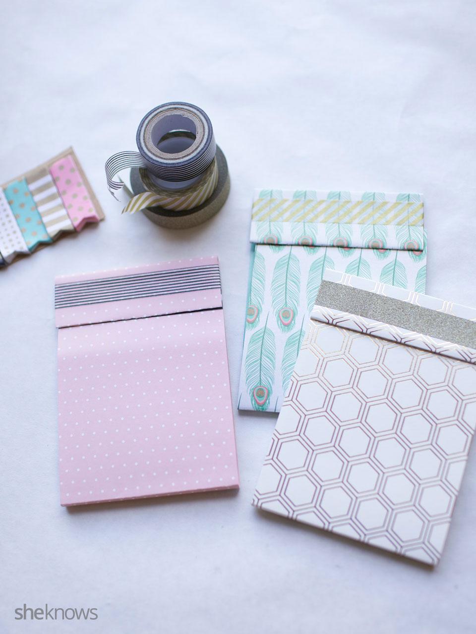 DIY Mini Notebooks 1