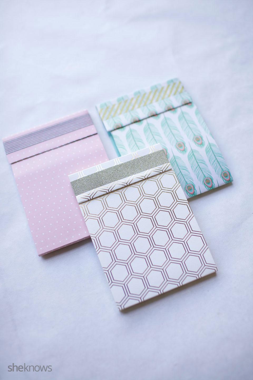 DIY Mini Notebooks 9