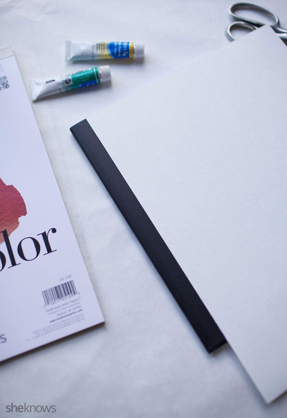 DIY Watercolor Notebook Journals 7