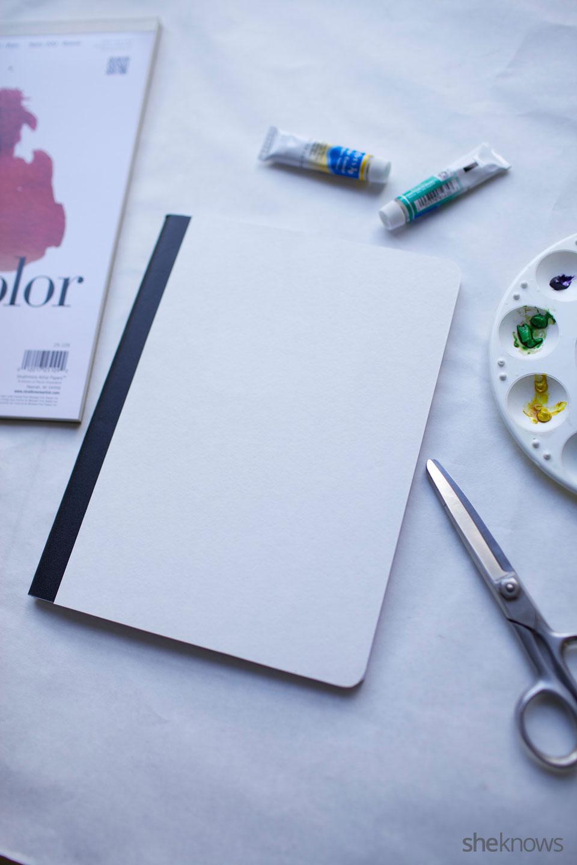 DIY Watercolor Notebook Journals 8