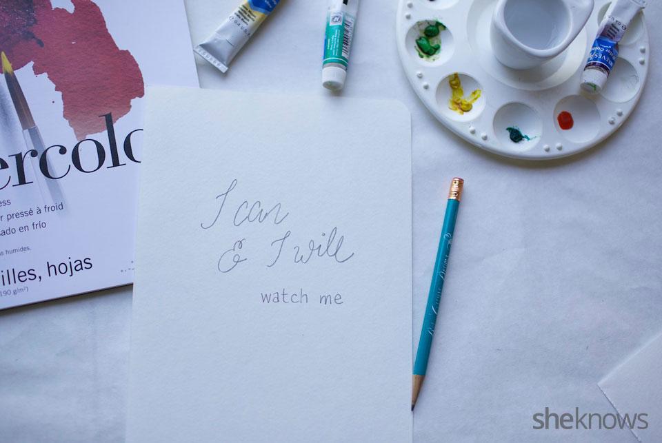 DIY Watercolor Notebook Journals 10