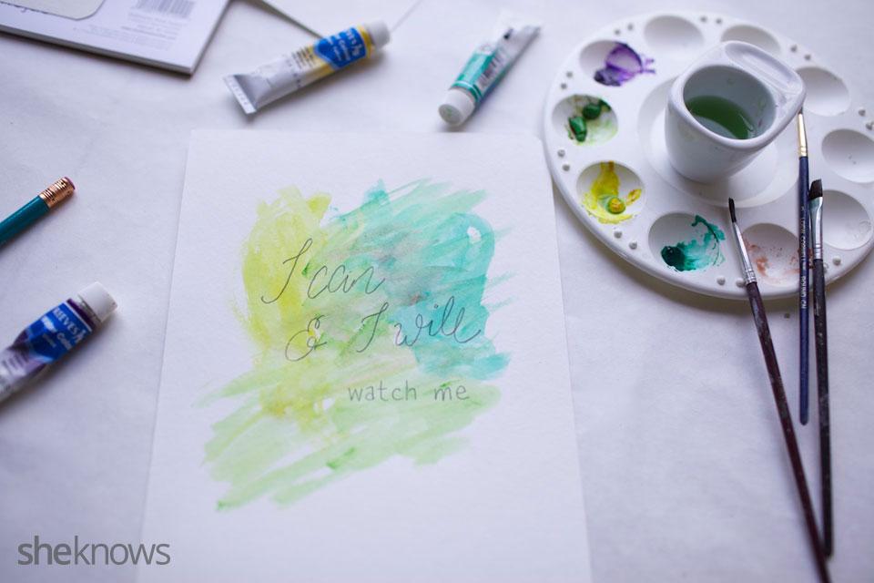 DIY Watercolor Notebook Journals 11