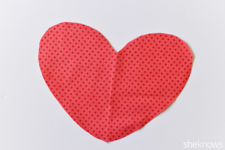 DIY Heart Pillow: Step 2