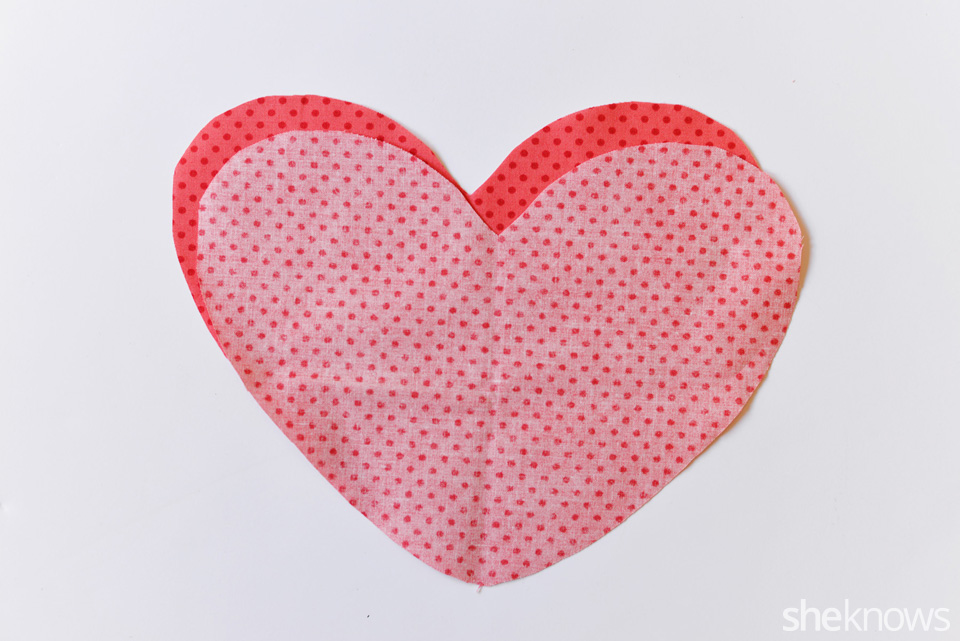 DIY Heart Pillow: Step 3