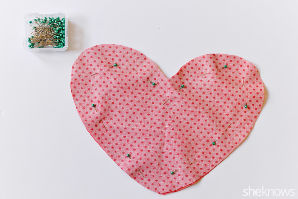 DIY Heart Pillow: Step 4