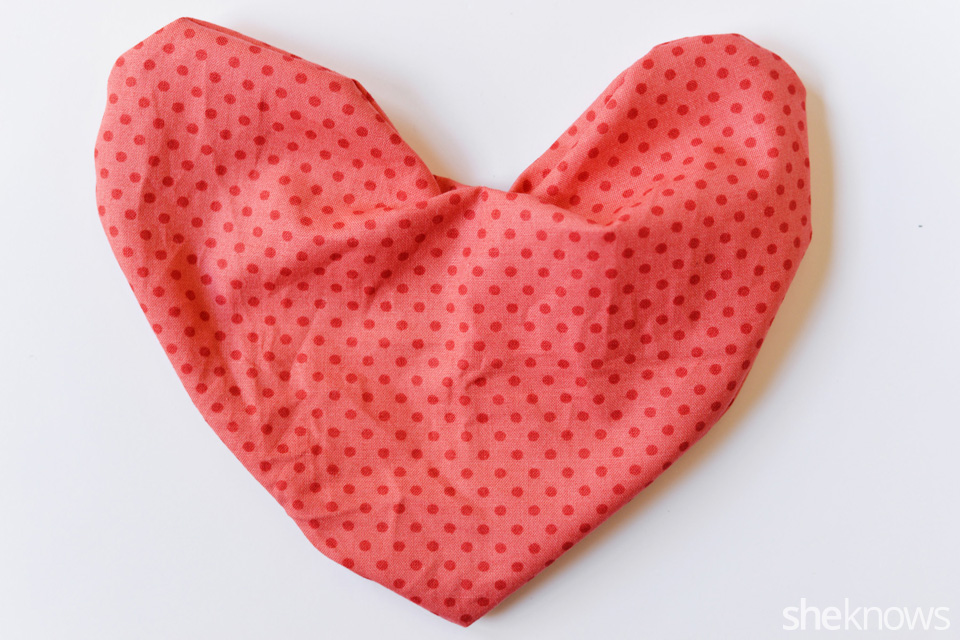 DIY Heart Pillow: Step 6