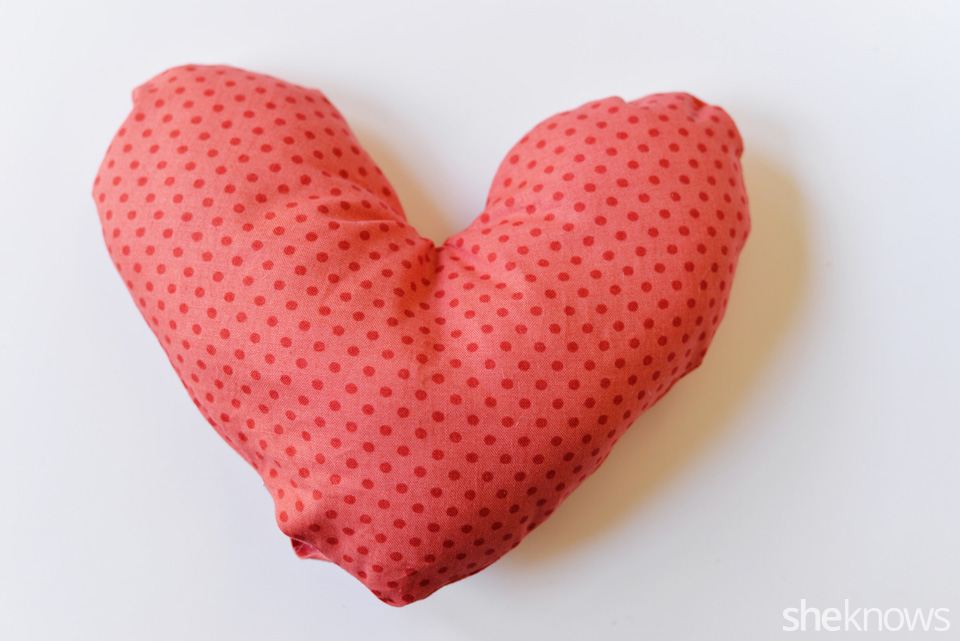 DIY Heart Pillow: Step 7